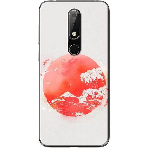 Ốp lưng nhựa dẻo Nokia 6.1 Plus Mặt trăng