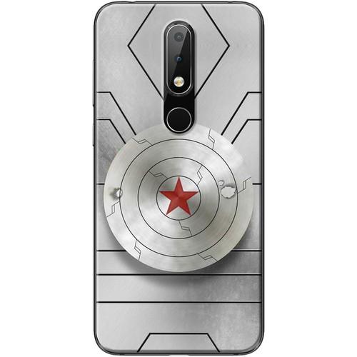 Ốp lưng nhựa dẻo Nokia 6.1 Plus Captain - 7153004 , 13869650 , 15_13869650 , 99000 , Op-lung-nhua-deo-Nokia-6.1-Plus-Captain-15_13869650 , sendo.vn , Ốp lưng nhựa dẻo Nokia 6.1 Plus Captain