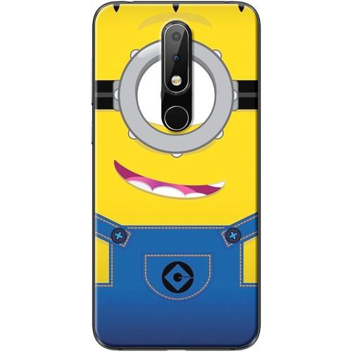 Ốp lưng nhựa dẻo Nokia 6.1 Plus Minion