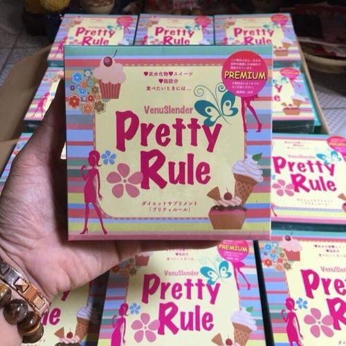 [15 gói dùng thử] Bột giảm cân Venuslender Pretty Rule