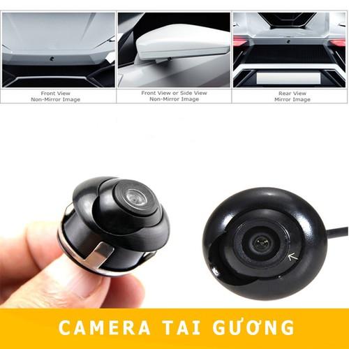 Camera sườn - camera cặp lề - camera gắn gương ô tô  Cực Nét Full HD