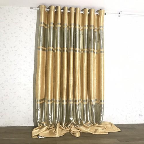Rèm cửa sổ PH curtains 400cm-cao 130cm xám vàng