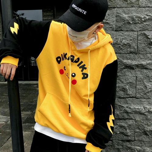 Áo hoodie nam nữ Pikachu - 7195526 , 13898510 , 15_13898510 , 194000 , Ao-hoodie-nam-nu-Pikachu-15_13898510 , sendo.vn , Áo hoodie nam nữ Pikachu