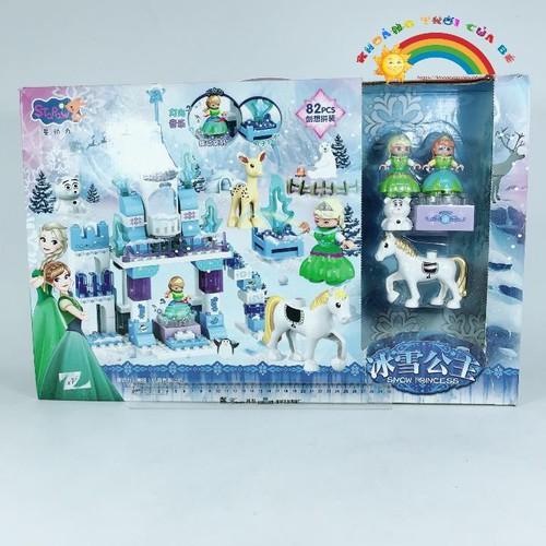 Lắp Ghép Lâu Đài Frozen Elsa