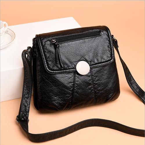 Túi xách nữ da Dê xuất khẩu siêu nhẹ,mịn, kiểu dáng Korea - T511