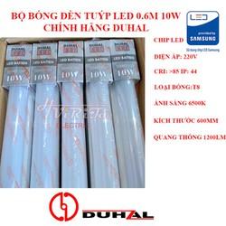 Bộ đèn tuýp led Duhal 0m6 10w 1m2 20w
