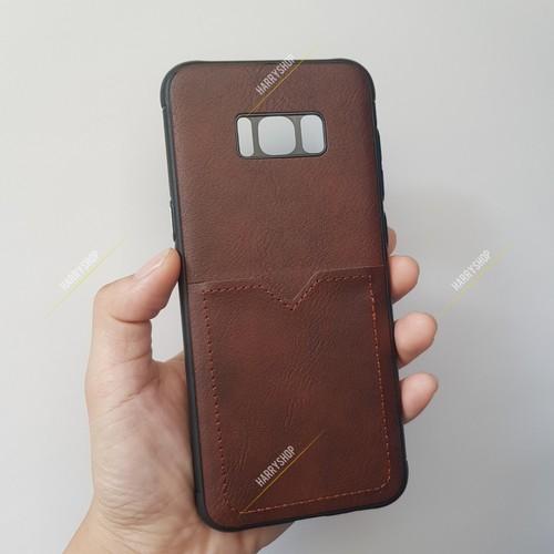 Ốp lưng Iphone S8 plus da PU có ngăn thẻ hiệu Likgus