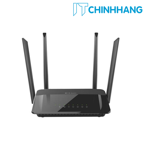Bộ phát Wifi D-Link DIR-822 chuẩn AC1200 - Hàng Chính Hãng