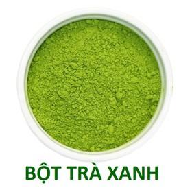500g Bột trà xanh Thái Nguyên đóng gói hút chân không nguyên chất hàng chất lượng đảm bảo - TRAXANH500