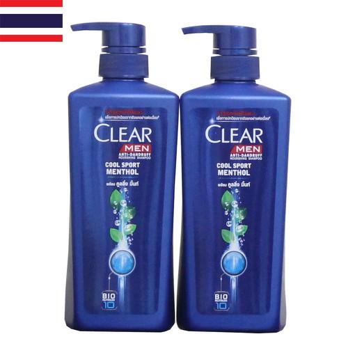 Dầu Gội CLear Bạc Hà Và Clear Men 480ml Thái Lan