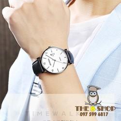 đồng hồ nam dây da