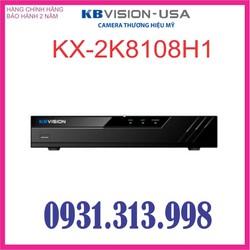 ĐẦU GHI HÌNH KBVISION H265+ KX-2K8108H1 8 KÊNH