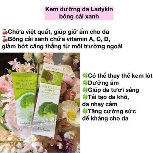 Kem dưỡng trắng Broccoli Super Ladykin Hàn Quốc chiết xuất bông cải xanh - 7183801 , 13890544 , 15_13890544 , 120000 , Kem-duong-trang-Broccoli-Super-Ladykin-Han-Quoc-chiet-xuat-bong-cai-xanh-15_13890544 , sendo.vn , Kem dưỡng trắng Broccoli Super Ladykin Hàn Quốc chiết xuất bông cải xanh
