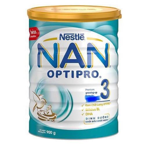 Sữa Bột Nan 3  optipro Nestlé 900g
