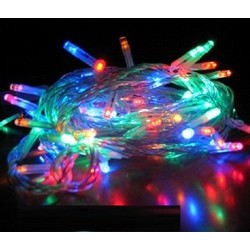 Bộ 02 dây đèn LED nhiều màu nhấp nháy dài 5m