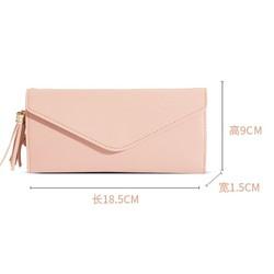 Ví nữ dài BM014- Màu hồng -3526XA