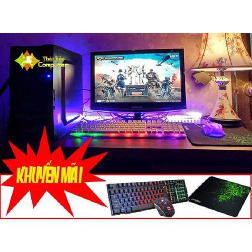 Bộ máy bàn TB319 màn hình 19 chơi game Liên minh, fifa3, ros mượt - 7204713 , 13904629 , 15_13904629 , 3180000 , Bo-may-ban-TB319-man-hinh-19-choi-game-Lien-minh-fifa3-ros-muot-15_13904629 , sendo.vn , Bộ máy bàn TB319 màn hình 19 chơi game Liên minh, fifa3, ros mượt