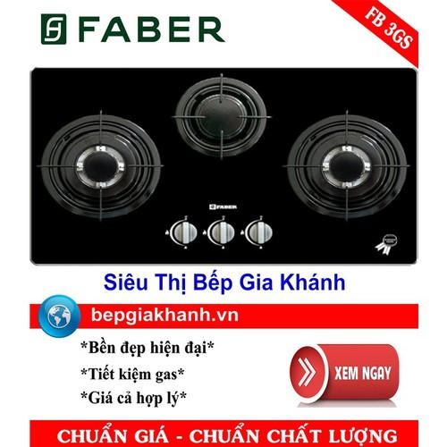 Bếp Gas Âm Faber FB 3GS - 7195231 , 13898202 , 15_13898202 , 5580000 , Bep-Gas-Am-Faber-FB-3GS-15_13898202 , sendo.vn , Bếp Gas Âm Faber FB 3GS