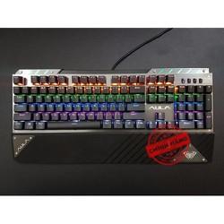 Bàn phím cơ Blue Swich chuyên game AULA F2030 - led Rainbow 9 chế độ
