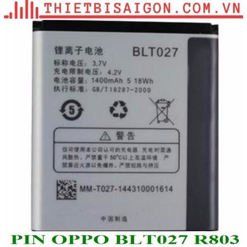 PIN OPPO BLT027 R803 - 7184202 , 13890852 , 15_13890852 , 78000 , PIN-OPPO-BLT027-R803-15_13890852 , sendo.vn , PIN OPPO BLT027 R803