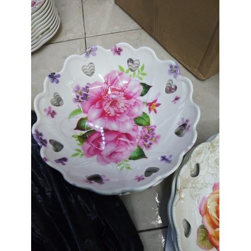 đĩa phíp đẹp đựng bánh kẹo, hoa quả ngày tết 23cm