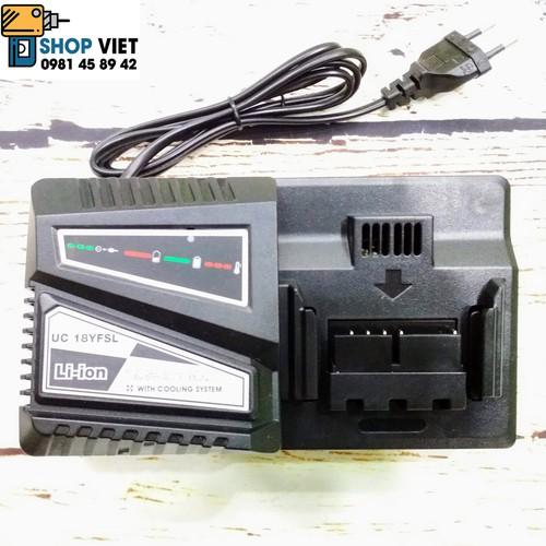 SCV Sạc pin thay thế cho Hitacchi UC18YFSL 14,4V-18V 4,5A, điện vào 220V