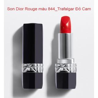 Bill Pháp - Son Dior Rouge số 844 Trafalgar màu Đỏ Cam tươi tắn, trẻ trung, dễ lên màu, tôn da - Son Dior 844 thumbnail