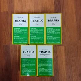 5 lọ bột khử mùi Trapha - 649-0
