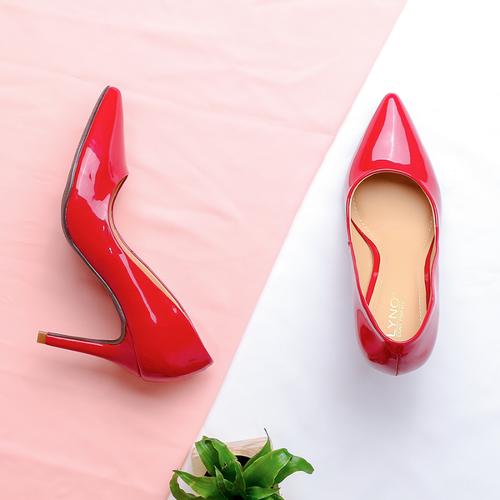 Giày cao gót nữ cao cấp   giày nữ đế nhọn   giày nữ  da bóng   giày nữ bền