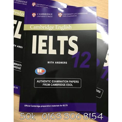 Cambridge IELTS - 12Tặng Giải Reading Chi Tiết