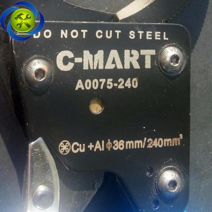 Kềm cắt cáp tự động C-Mart A0075-240 240mm2 4