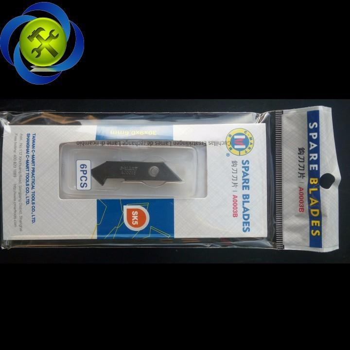 Lưỡi dao móc C-Mart A0003B 6 lưỡi 4