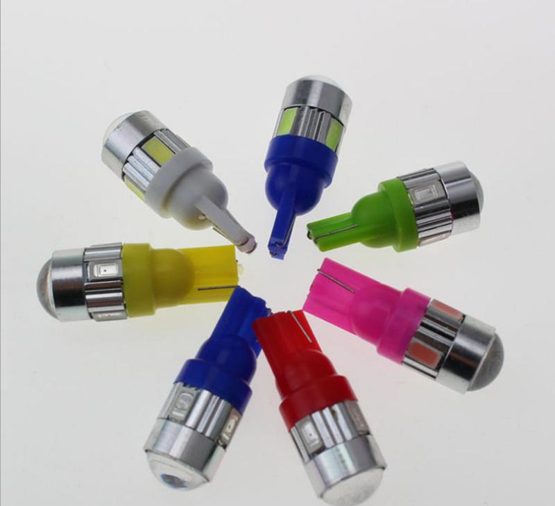Một đôi đèn led demi xi nhan bi cầu siêu sáng - demi cầu - giao màu ngẫu nhiên 2