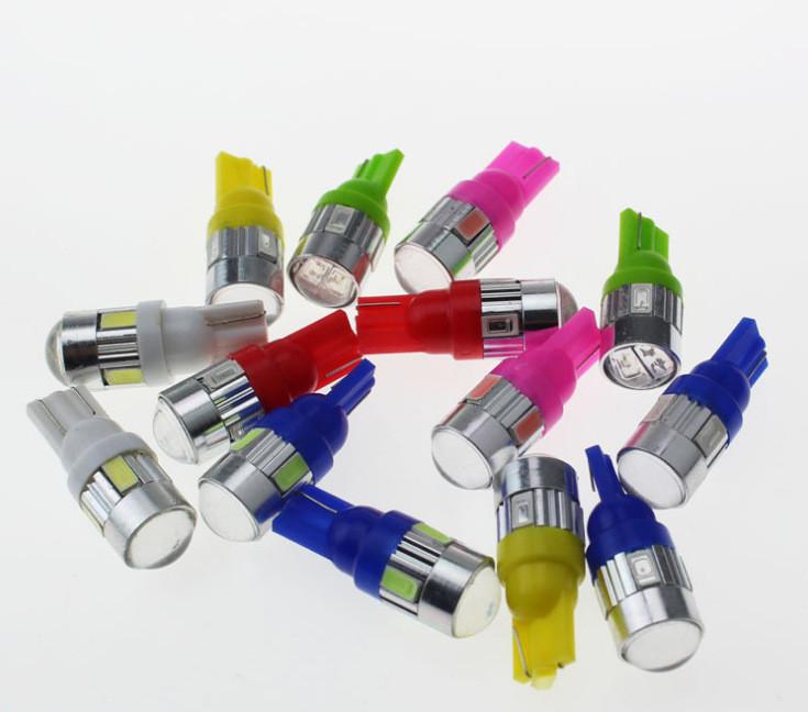Một đôi đèn led demi xi nhan bi cầu siêu sáng - demi cầu - giao màu ngẫu nhiên 1
