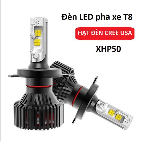 Đèn LED T8 hạt Led CREE - XHP50 T8 siêu sáng chân H4 - LED-T8 giá 1 bóng