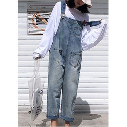 Quần yếm jean dài YD21