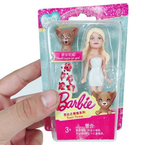 Búp Bê Barbie Và Thú Cưng