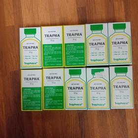 10 lọ Bột khử mùi Trapha - 650