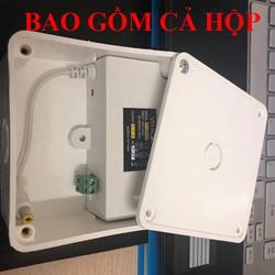 COMBO adapter 12v-2a và hộp nối, nguồn 12v2a , adapter 12v2a , adapter 12v 2a hàng mới