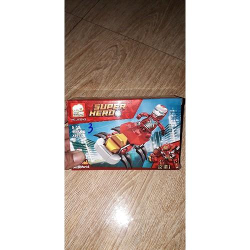 lắp ráp NLego Người sắt Super Heroe 1143 mẫu 3