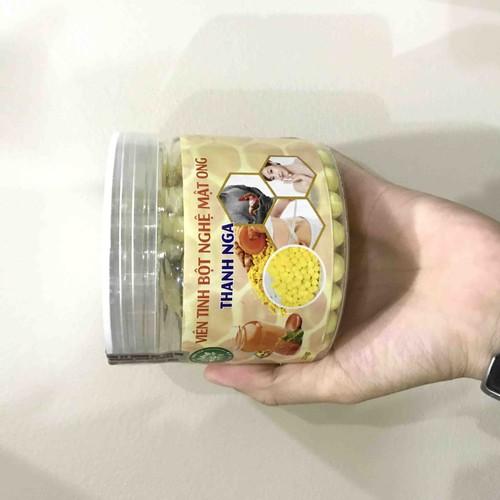 Viên tinh bột nghệ mật ong Thanh Nga 250g