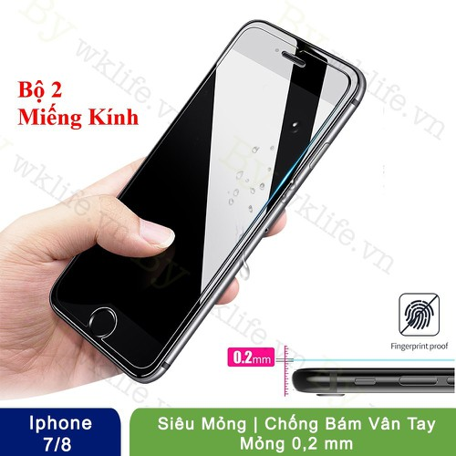 Combo 2 Cường Lực Winner iPhone 7 8