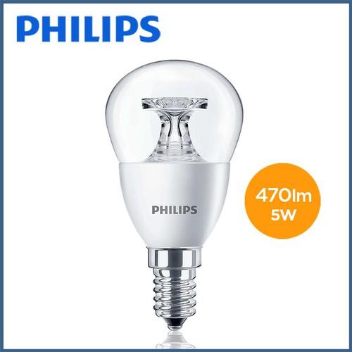 Bóng đèn Philips LED Nến 5.5W 2700K đuôi E14 230V P45 - Ánh sáng vàng