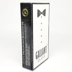 Bao cao su Gallant 0.03 siêu mỏng hộp 12 cái