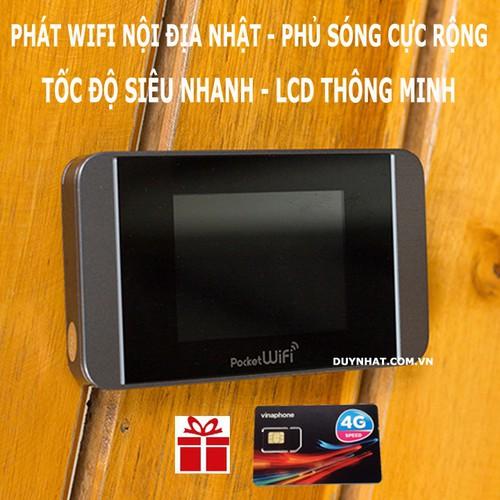 Router Phát Sóng Wifi Từ Sim 3G 4G Pocket 304HW