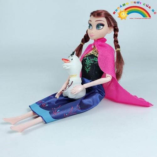Búp Bê Elsa Anna Cặp Đôi Hoàng Tử