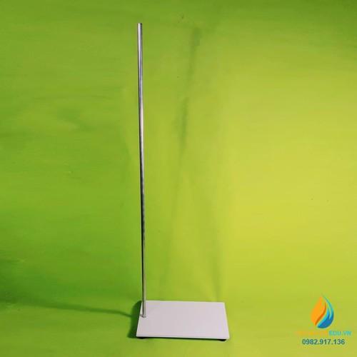 Giá đỡ thí nghiệm gồm chân đế và trụ sắt cao 50 cm