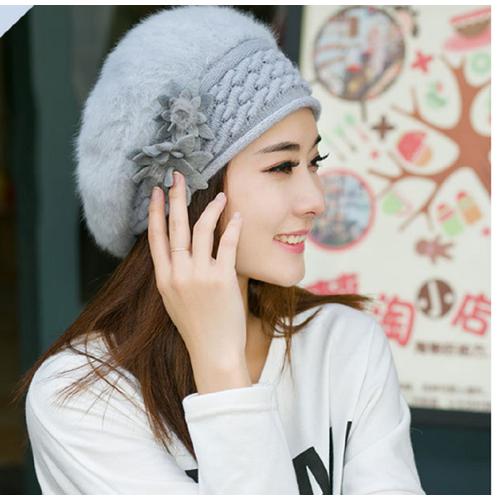 mũ nồi len lông thỏ gắn hoa đôi phong cách hàn, mũ len mùa đông, mũ beret len - 4626188 , 13928372 , 15_13928372 , 145000 , mu-noi-len-long-tho-gan-hoa-doi-phong-cach-han-mu-len-mua-dong-mu-beret-len-15_13928372 , sendo.vn , mũ nồi len lông thỏ gắn hoa đôi phong cách hàn, mũ len mùa đông, mũ beret len