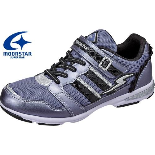 Giày thể thao trẻ em thời trang 2 sọc Moonstar Superstar  16FW SS J695
