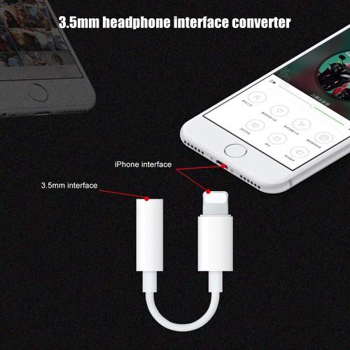 Cáp Chuyển Từ Lightning Sang Tai Nghe Jack 3.5mm Cho Iphone 7,8,X,Xs Max